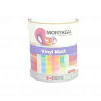 Montreal Vinyl Silk White Matt Drum