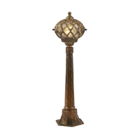 Golden Color Garden Lantern Circular Shape (Medium Size)