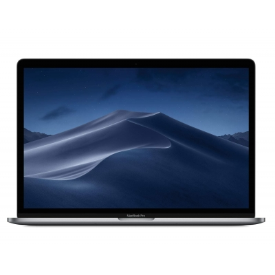 15-inch MacBook Pro with Touch Bar: 2.2GHz 6-core 8th-generation IntelCorei7 processor, 512GB - Space Grey