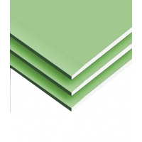 Supply & Install Gypsum Board Water Resistant 1.2x2.4 (12 mm thickness) (Kuwaiti)