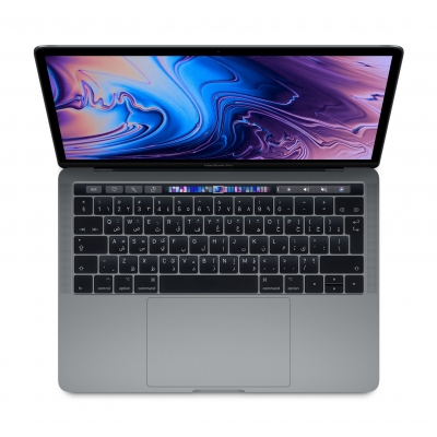 13-inch MacBook Pro with Touch Bar: 2.3GHz quad-core 8th-generation Intel Core i5 processor, 256GB - Space Grey