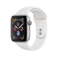 Apple Watch Series 4 ( GPS ) White - 44mm Silver Aluminum
