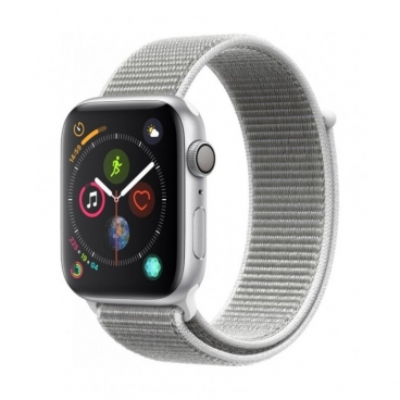 Apple Watch Series 4 (GPS) Seashell Sports - 44mm Silver Aluminum