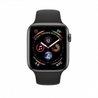 Apple Watch Series 4 (GPS) Black - 44mm Gray Aluminum